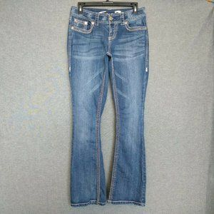 Seven7 BootCut Low Rise Jeans